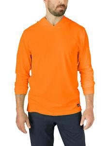 Genuine Dickies Work Solutions Hooded Long Sleeve Performance Sun Shirt SMALL