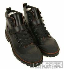 NWB $395 - COACH Cedar Hiker Black Leather Shoes Ankle Boots G1553 - 9.5