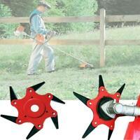 6 Steel Blades Razors 65Mn Universal Lawn Mower Garden Trimmer Head Brush Cutter