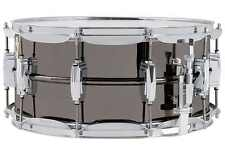 61Ludwig LB417 Black Beauty 6.5x14 Black Snare with Imperial Lugs FREE US Ship!