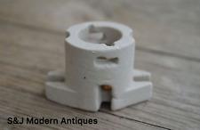 Retro Bayonet porcelain lamp holder vintage ceramic light bulb holder B22 5030