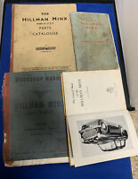 1950's? Hillman Minx  Booklets, Catalog Old Original Books
