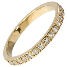 TIFFANY & CO. NOVO WEDDING DIAMOND 18K ROSE GOLD BAND RING .35CT  5.5