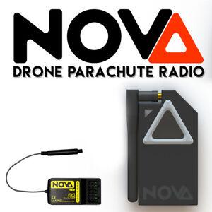 NOVA drone parachute and flight termination radio (433MHz version)