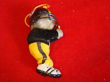 Vintage Pittsburg Steelers Teedy Bear Christmas Ornaments 431518