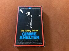 The Rolling Stones Gimme Shelter Beta Tape Rare