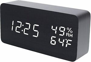 electronic alarm clock for student dormitory, multifunctional bedside clock