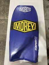 "Morey Body Board Mach 11Tube Rail Body Boogie Board Blue Color,Size 42""×21"" New"