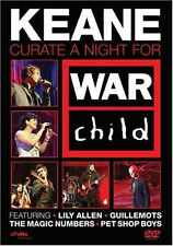 KEANE - Curate A Night For War Child [DVD, 2008] NEW! Lily Allen, Pet Shop Boys
