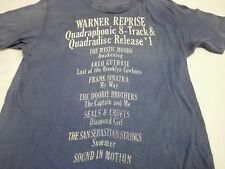 Vintage 90s Warner Reprise T Shirt Quadraphonic Frank Sinatra Arlo Guthrie