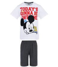 Pijamas y batas negros Disney para niño de 2 a 16 años