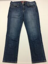 Lucky Brand Womens Jeans The Art of Blue Denim Sweet'N Crop 4/27 Straight Leg