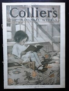 Jessie Willcox Smith Cover Art Collier's Weekly12/23 1905 Full Issue
