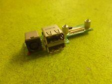 Genuine Dell Inspiron 1525 1526 DC Jack 2-USB Ports Board 48.4W032.021