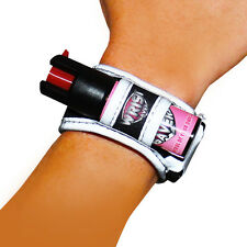 Wrist Saver Black-Pink (Large) Pepper Spray For Running, Jogging, Walking