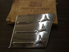 NOS OEM 1949 1950 1951 Ford Accessory Fender Shield Stainless Trim RH