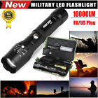 10000Lumens XM-L T6 Zoomable Torch Tactical Military LED 18650 Flashlight Lamp