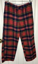 Old Navy Women Plaid Red Pajama Pants Lounge Flannel Size  Plus 3X Buffalo