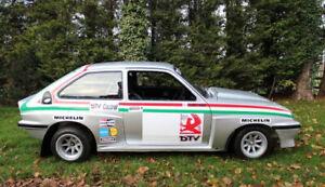 vauxhall chevette 1/10 bodyshell tamiya TT01 ,TT02 ,hpi ,yokomo ,3 racing