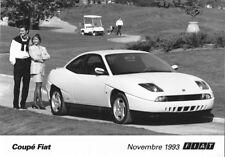 PHOTO PRESS ORIGINALE FIAT  COUPE (5)  - 1993