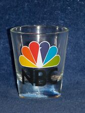 NBC Television TV Peacock Shot Glass Excellent+
