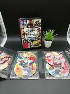 Grand Theft Auto 5 GTA 5 PC BigBox OVP 7 Disc