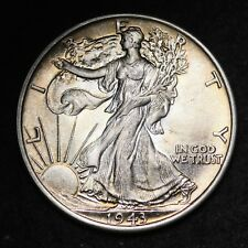 1943 Walking Liberty Half Dollar CHOICE BU FREE SHIPPING E290 RCL