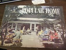 VINTAGE - POPULAR HOME MAGAZINE - SUMMER 1948 - VERY GOOD