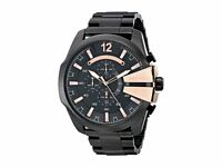 BRAND NEW DIESEL MEGA CHIEF CHRONOGRAPH ROSE GOLD MEN WATCH DZ4309