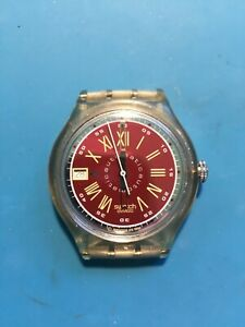 SWATCH AUTOMATIC MENS WATCH. WORKING.