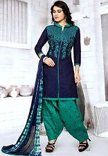 Radiant Cotton Embroidered Salwar Suit Dress Material D.NO GP611