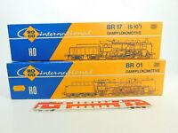 BQ77-0,5# 2x Roco H0 Leerkarton für Dampflokomotive DB: 04115 A + 04119 A
