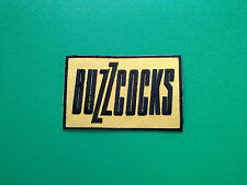 HEAVY METAL PUNK ROCK MUSIC SEW ON / IRON ON PATCH:- BUZZCOCKS (a)