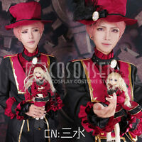 Cosonsen Ensemble Stars Valkyrie Itsuki Shu Cosplay Costume full set with hat