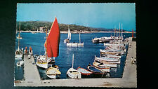 1966 Ile de Porquerolles French Postcard Le Port