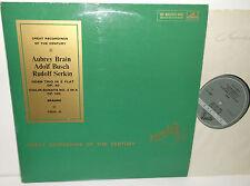 COLH 41 Brahms Violin Sonata & Horn Trio  Brain Busch Serkin