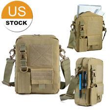 Multifunction Canvas Bag Men Messenger Bags Travel Military Men's Crossbody Bag