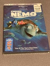 Disney Pixar Finding Nemo Dvd 2-Disc Collector's Edition New Sealed With Cover