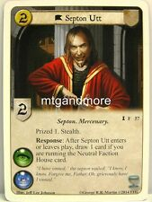 A Game of Thrones LCG - 1x Septon Utt  #057 - Fire Made Flesh