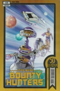 Star Wars: Bounty Hunters Nr. 15 (2021), Lucasfilm 50th Variant Cover C, new