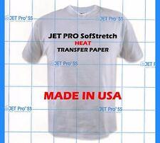 500 SHEETS IRON ON TRANSFER PAPER / JET-PRO SofStretch JETPRO SS bulk