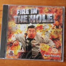 Fire In The Hole by Matt Sadler New Sealed