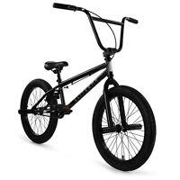 "Elite BMX 20"" Bike Stealth Freestyle Black All New 2021"