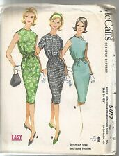 McCall's Sewing Pattern 5699, Vintage Dress, Size 18, Bust 38 Uncut