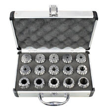 15pc Precision Metric Er 40 Collet Set Withcase 18 To 1 Free Shipping Er 40