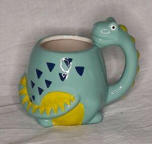 Dinosaur / Dragon Shaped 3D Mug Cup Tea /Coffee Hand Painted Novelty Cute Gift