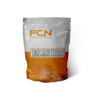 Lions Mane Mushroom - 120 tablets | Organic Extract | High Strength Beta Glucan