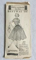 Vintage 1950s BESTWAY Master Sewing Pattern 275K Dress - 5 Sizes