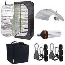 Budget Hydroponic Grow Tent Kit 250W Growth & Flowering CFL Bulb Reflector