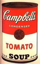 RETRO - CAMPBELLS TOMATO SOUP - JUMBO ACRYLIC FRIDGE MAGNET - 95mm x 65mm